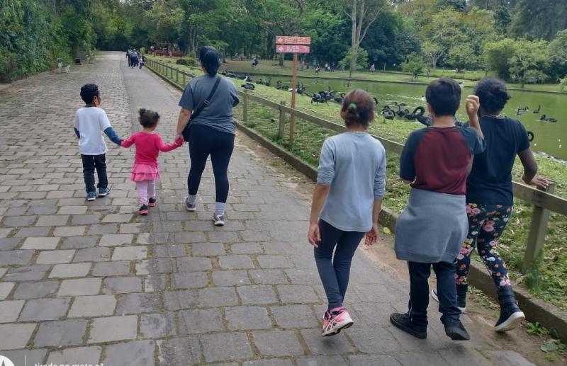 Foto: Visita ao zoológico