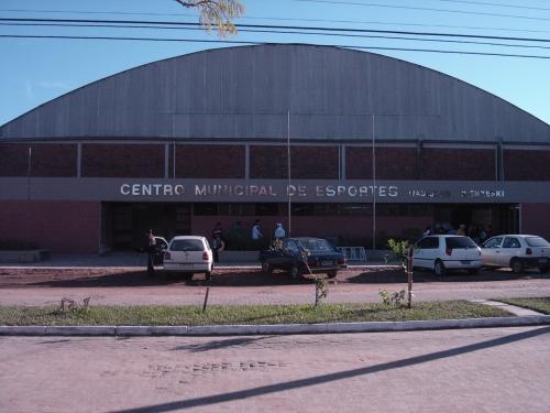 Prefeitura Municipal de Camaquã - RS - Ginásio Municipal de Esportes  Wadislau Niemxeski