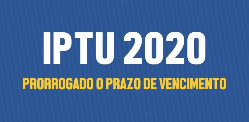 Noticia pagamento-de-cota-unica-do-iptu-e-prorrogado